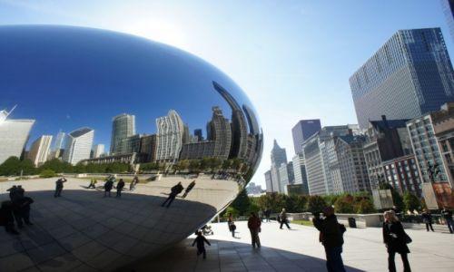 Zdjęcie USA / Illinois / Chicago / Pod fasolką