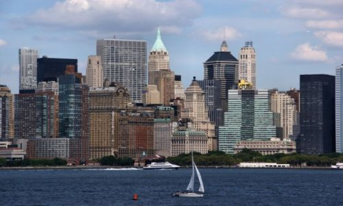 Zdjęcie USA / - / New York / Biały żagiel