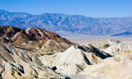 Zdjecie USA / Kalifornia / Death Valley Zabriskie Point / Konkurs - Zabriskie Point