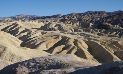 Zdjecie USA / Kalifornia / Death Valley National Park / Zabriskie Point