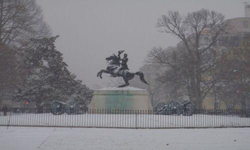 Zdjecie USA / DC / przed Białym Domem / Waszyngton