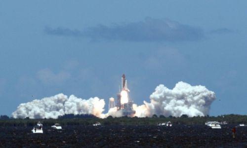 Zdjecie USA / Floryda / Cape Canaveral / Start promu kosmicznego