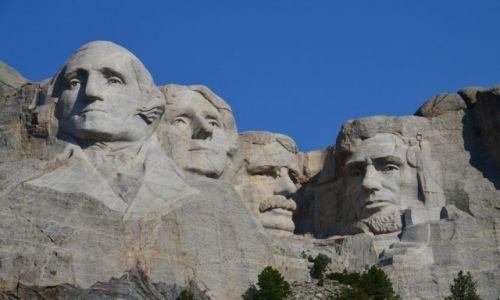 Zdjecie USA / Dakota południowa / Mount Rushmore National Memorial / Co cztery głowy to nie jedna