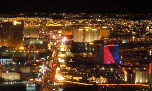 Zdjecie USA / brak / Las Vegas / Vegas w nocy