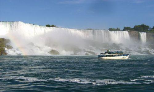 Zdjecie USA / Stan Nowy York / Niagra falls / Woda , woda, wo
