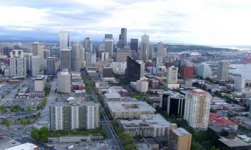 Zdjęcie USA / Washington / Seattle / Widok z wieży