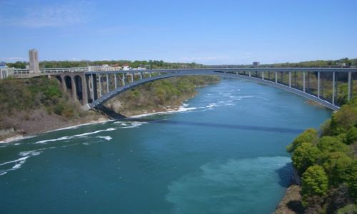 Zdjecie USA / brak / Niagara / most