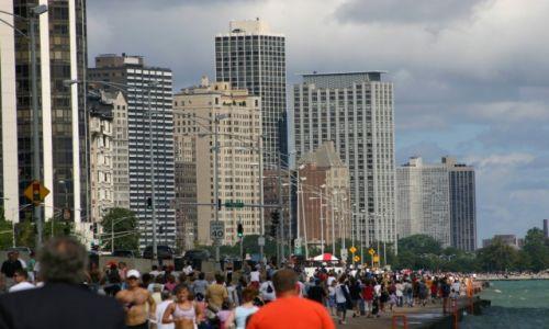 Zdjęcie USA / ILLINOIS / CHICAGO / ULICA