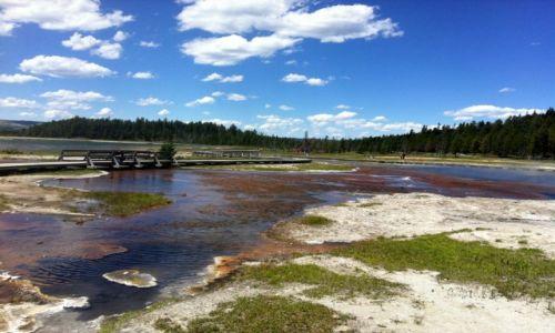 Zdjecie USA / Wyoming / Yellowstone / Yellowstone