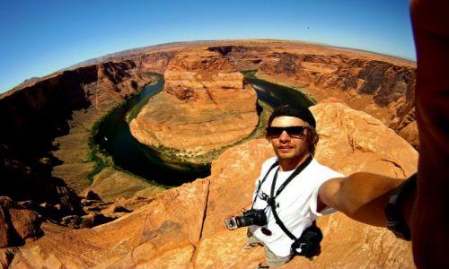 Zdjęcie USA / Arizona / Horseshoe Bend / Podkowa