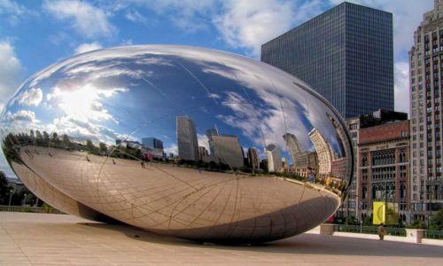 Zdjecie USA / Illinois /  Chicago / Wrota Niebios