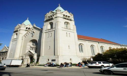 Zdjęcie USA / Illinois / Chicago / Kościół Świętego Jozafata, kaszubska parafia w Chicago