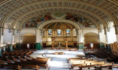 Zdjęcie USA / Illinois / Chicago, Kościół Św. Jozafata / Ołtarz