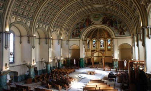 Zdjęcie USA / Illinois / Chicago, Kościół Św. Jozafata / Wnętrze
