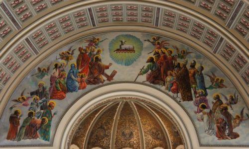 Zdjęcie USA / Illinois / Chicago, Kościół Św. Jozafata / Freski