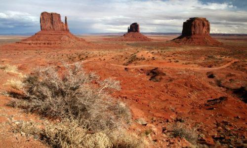 Zdjecie USA / Utah / Monument Valley / Dawno temu na Dzikim Zachodzie