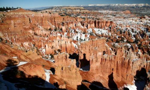 Zdjęcie USA / Utah / Bryce Kanion / Bryce zimową porą