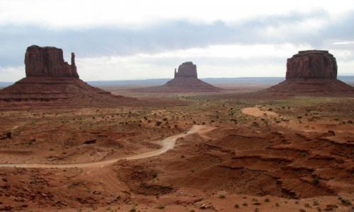 Zdjęcie USA / Arizona/Utah / Monument Valley / Skalne pomniki