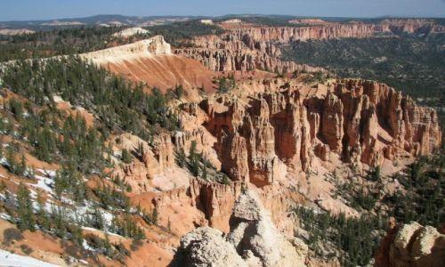 Zdjęcie USA / Utah / Park Narodowy Bryce Canyon / Kanion nie kanion