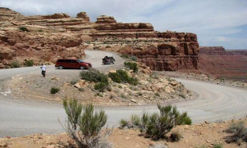 Zdjęcie USA / Utah / w drodze... / Zakręt