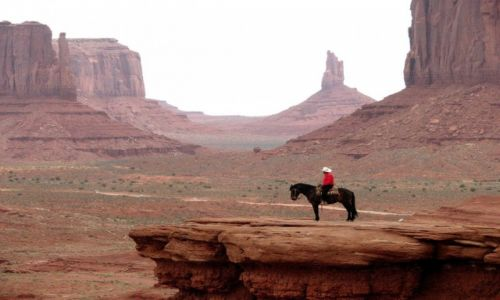 Zdjecie USA / Utah/Arizona / Monument Valley / Dziki zachód?