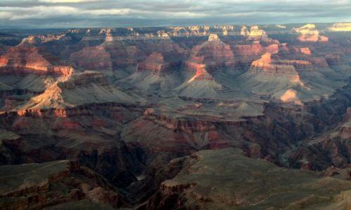 Zdjecie USA / Arizona / Grand Canyon / Wielki po horyzont