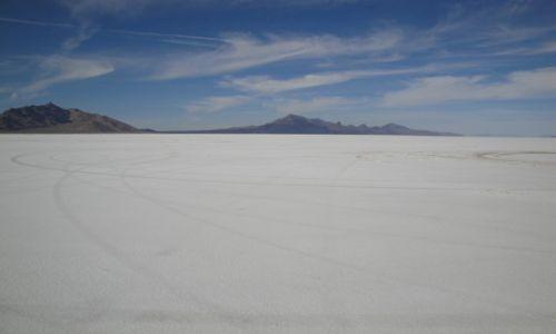 Zdjecie USA / Utah / Bonneville Salt Flat International Speedway / Bonneville - Utah