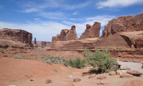 Zdjecie USA / Utah / Arches National Park / Arches Natonal