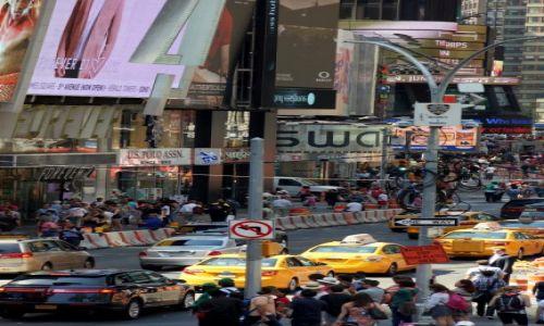 Zdjęcie USA / - / Nowy York / Uliczny gwar