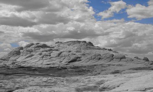 Zdjecie USA / Arizona / White Pocket / Na innej planecie -niebo nad White Pocket