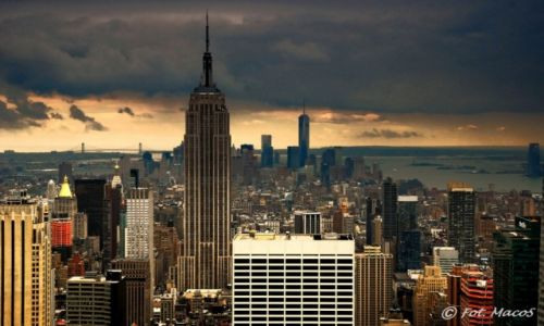 USA / NYC / Top of the Rock / Manhattan