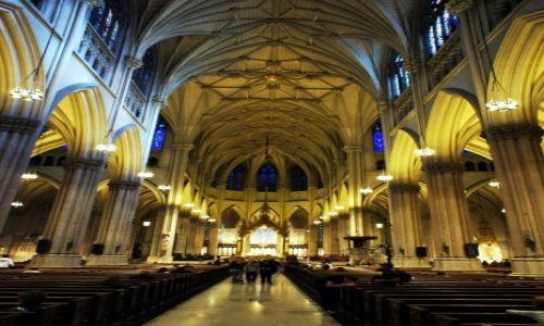 Zdjęcie USA / Nowy Jork / Piąta Aleja / Katedra pw. Św. Patryka
