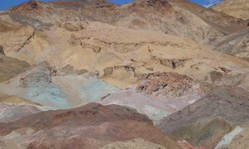 Zdjecie USA / Nevada / Dolina Śmierci / Tęczowo mi: Artists Palette - Dolina Śmierci