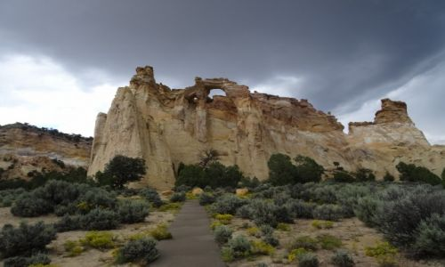 USA / - / UTAH / Cottonwood Canyon Road - Grosvenor Arch
