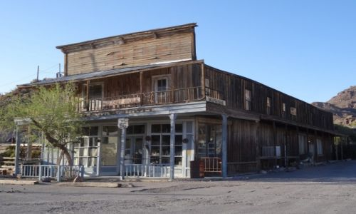 Zdjecie USA / Arizona / Oatman / Route 66  Oatman