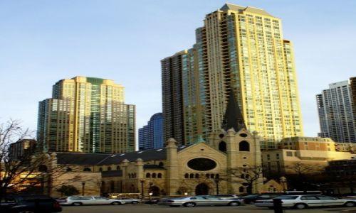 Zdjęcie USA / Chicago / Downtown / Kościół prezbiteriański