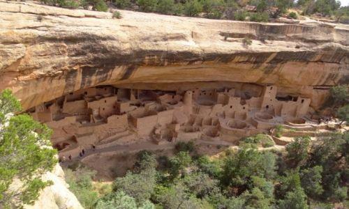 Zdjęcie USA / Kolorado / Mesa Verde NP / MESA VERDE - ruiny pueblo Anasazi