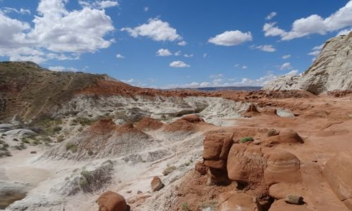 USA / Utah / Paria Rimrocks Toadstool Hoodoos / Grand Staircase Escalante 2