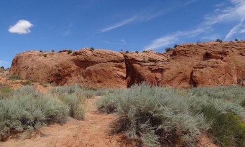 USA / Utah / Escalante / Peek-a-Boo Canyon - wejście