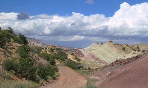 Zdjecie USA / Utah / Capitol Reef / Botom - Bullfrog Road 4