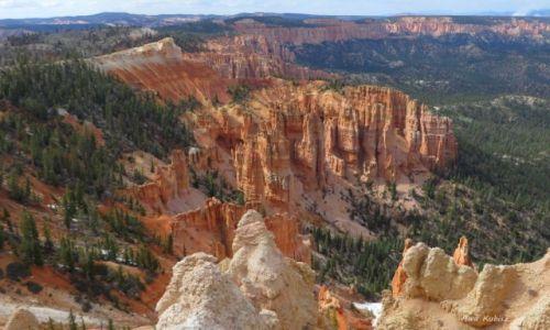 Zdjecie USA / Utah / Park narodowy Bryce Canyon / Skalni żołnierze aż po horyzont