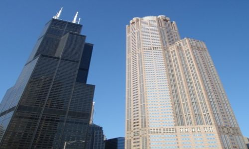 Zdjecie USA / IL. / CHICAGO / sears tower skydeck