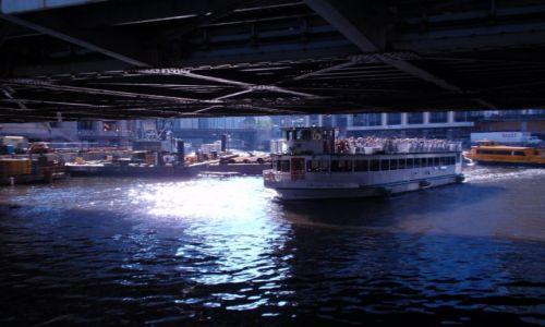 Zdjęcie USA / IL. / CHICAGO / pod mostem