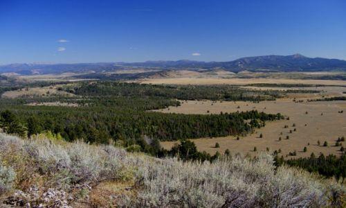 USA / Wyoming / Wyoming / dolina rzeki Snake