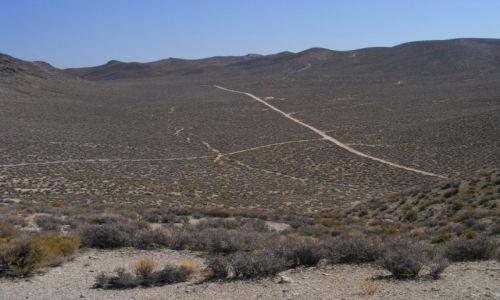 Zdjecie USA / Kalifornia / Kalifornia / Pozostałości górniczej osady