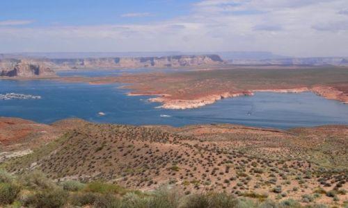 Zdjęcie USA / Arizona/Utah / Jezioro Powella / Powell Lake