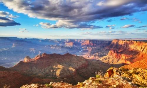 Zdjecie USA / Arizona / Grand Canyon South Rim / Niebo w Kanionie