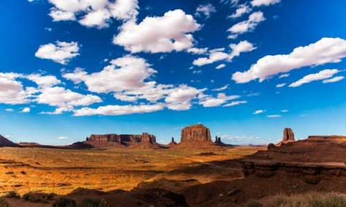Zdjęcie USA / Utah / Monument Valley / Światło i cień