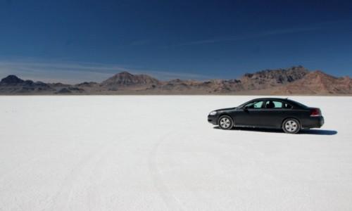 Zdjęcie USA / Utah / Bonneville Salt Flats / Słona pustynia