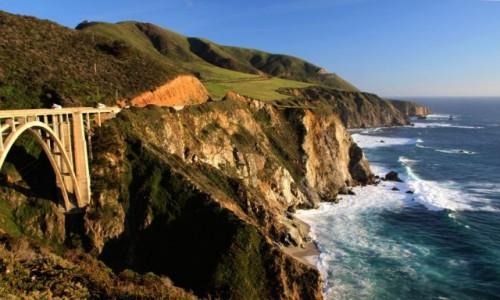Zdjęcie USA / Kalifornia / Droga stanowa nr 1 / Jedynka